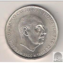 100 PESETAS DE 1966 RECTO *19-69
