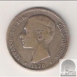 PESETA DE 1876 *18-