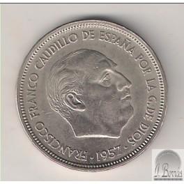 50 PESETAS DE 1957