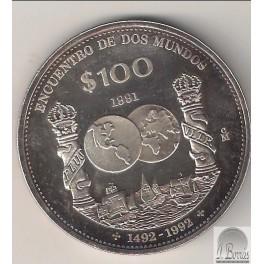 100 PESOS DE 1991