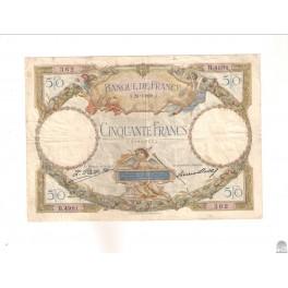 50 FRANCOS DE 1929