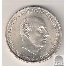 100 PESETAS DE 1966 *69 CURVO