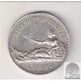 PESETA DE 1869