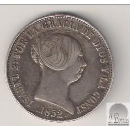 10 REALES DE 1852