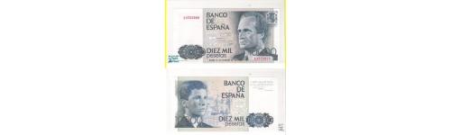 BILLETES DE JUAN CARLOS I